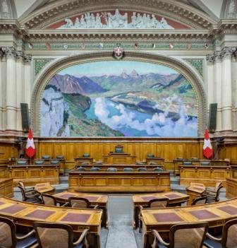 Natinoalratssaal Parlament